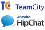 TeamCity Continuous Integration Server by Jetbrains and Atlassian's HipChat IM for private group chat and team collaboration.